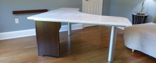 Rhino Marble Desk